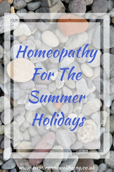Homeopathy For The Summer Holidays 1