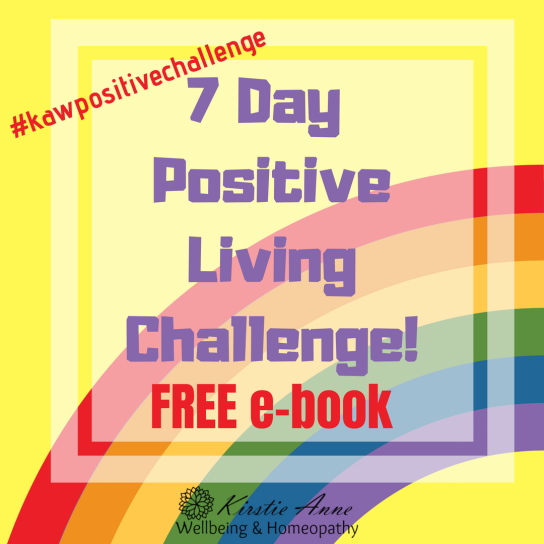 7 Day Positive Living Challenge! free e-book