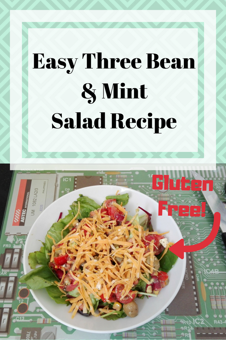 Easy Three Bean & Mint Salad Recipe (1)