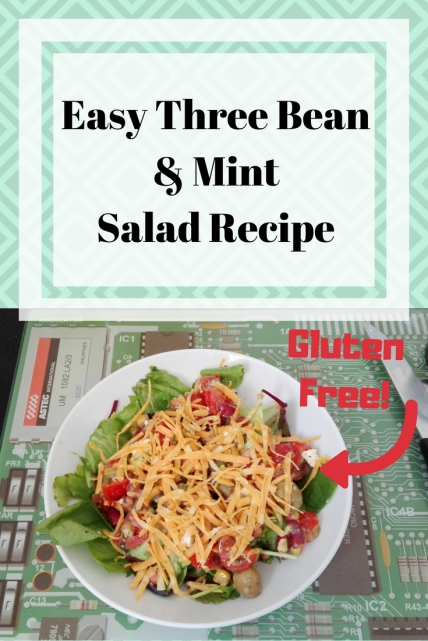 Easy Three Bean & Mint Salad Recipe (1)