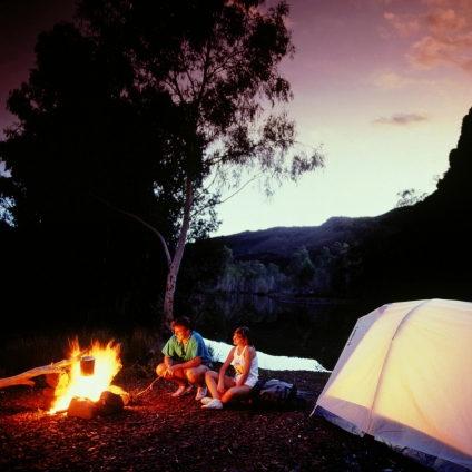 ecotherapy camping