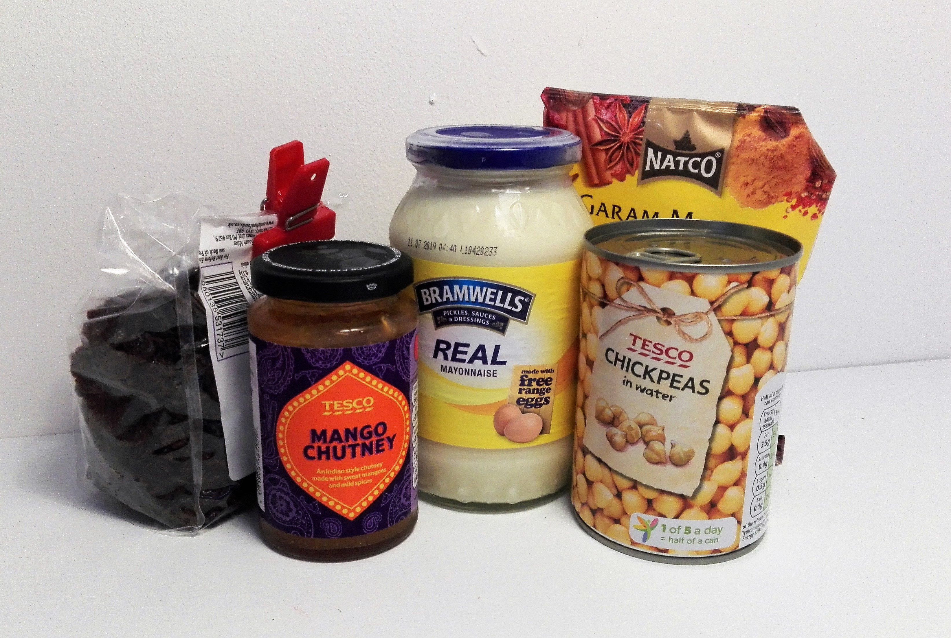 super easy frugal coronation chickpeas deli filler ingredients for recipe gluten free