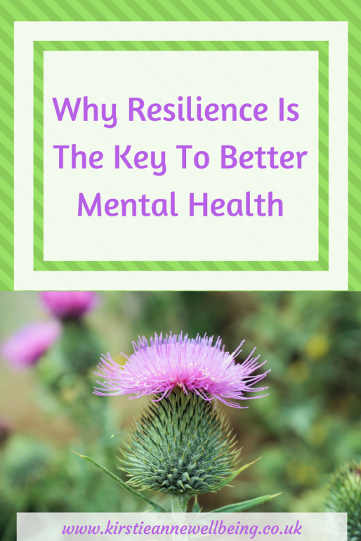 Resilience is the key to better mental health