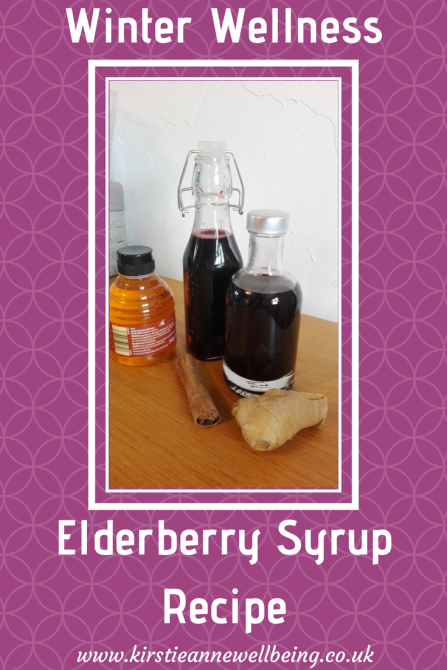 Winter Wellness Elderberry Syrup Recipe