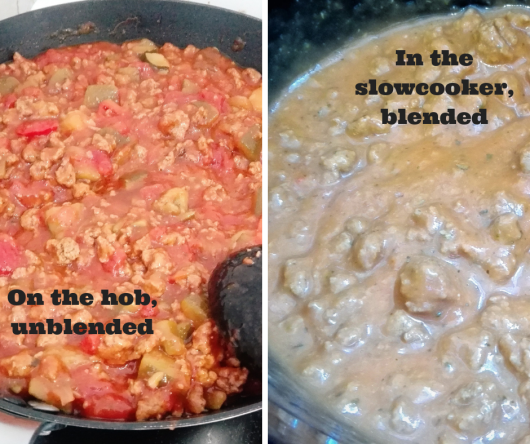 super easy bolognaise chunky or smooth for kids