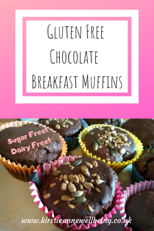 Gluten Free Chocolate Breakfast Muffin Recipe Sugar Free Dairy Free