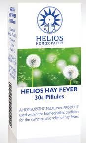 Helios homeopathic hay fever pillules 30c