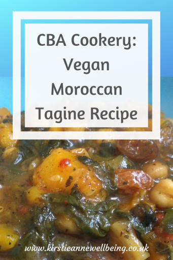 CBA Cookery: Vegan Moroccan Tagine Recipe by Kirstie Anne