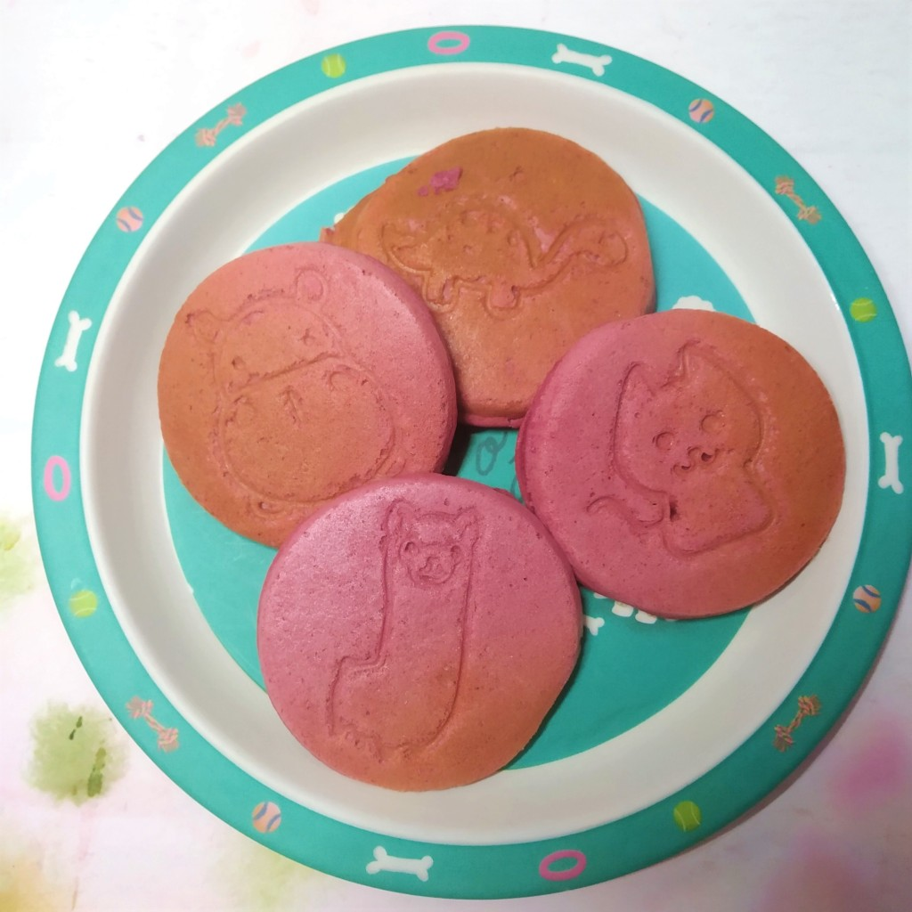 gluten free pancakes with cute animal motifs